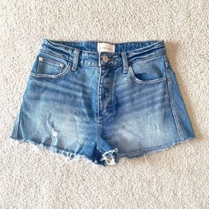 Gilded Intent Distressed High Rise Short Sz 27